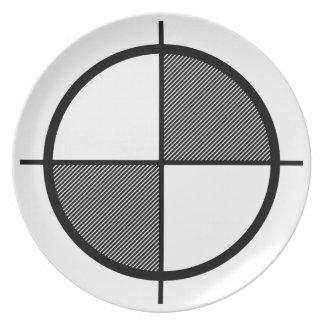 Elevation Symbol Plate (dark)