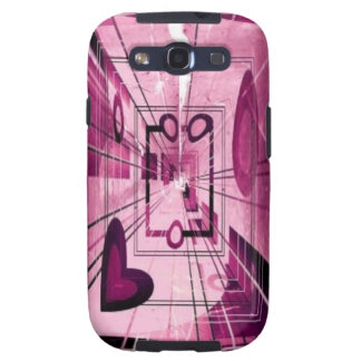 Elevator Down Abstract Galaxy S3 Case