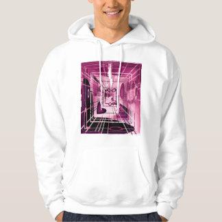 Elevator Down Abstract Hoodie