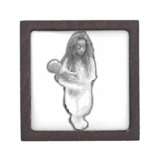 Elevator ghost prank little girl brazilian premium gift box