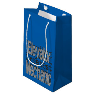 Elevator Mechanic Extraordinaire Small Gift Bag