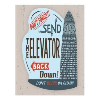 Elevator Postcard