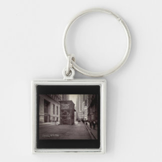 Elevator Shaft North of Exchange Place NYC Keychain