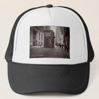 Elevator Shaft North of Exchange Place NYC Trucker Hat
