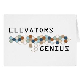 Elevators Genius Card