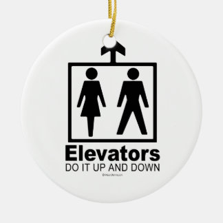 Elevators Christmas Ornament