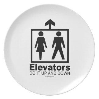 Elevators Plate