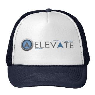 Eleve el gorra del camionero