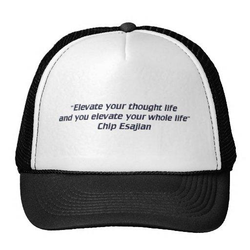 Eleve sus pensamientos gorra