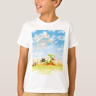 Eleven Cheers Cats T-Shirt