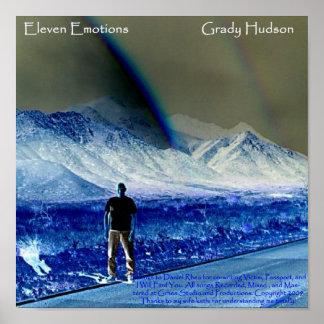 Eleven Emotions Grady Hudson Album Cover Poster