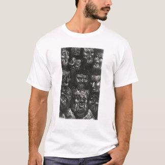 Eleven grotesque faces T-Shirt