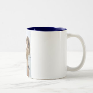 Eleven me Two-Tone coffee mug