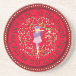 Eleven pipers piping drink coasters