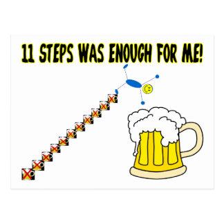 Eleven Steps Post Card