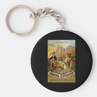 Eleventh Cincinnati Industrial Exposition Keychain