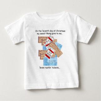 Eleventh Day Redneck Christmas Baby T-Shirt