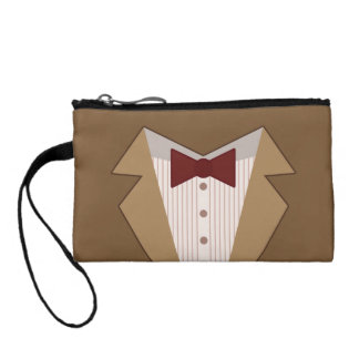Eleventh Doctor Outfit Bag, Clutch, Wristlet