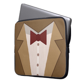 Eleventh Doctor Outfit Laptop Sleeve