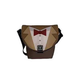 Eleventh Doctor Outfit Mini Messenger Bag