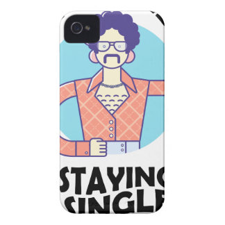 Eleventh February - Satisfied Staying Single Day iPhone 4 Case