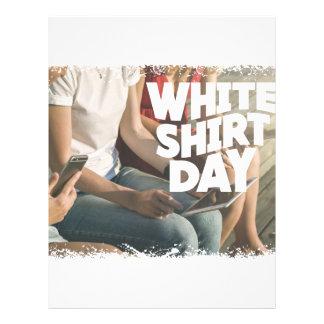 Eleventh February - White Shirt Day Letterhead