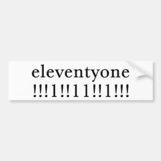 Eleventyone Bumper Sticker