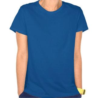 Elévese a los pájaros geométricos del art déco del camisetas