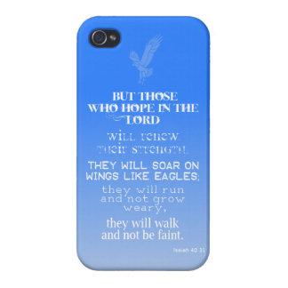 Elévese como el caso del iPhone 4 de Eagles iPhone 4/4S Funda