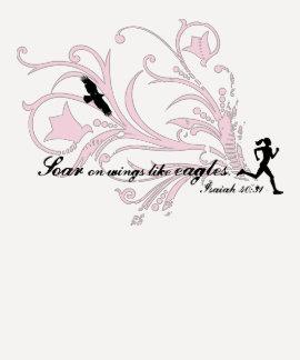 Elévese en las alas como Eagles T-shirt