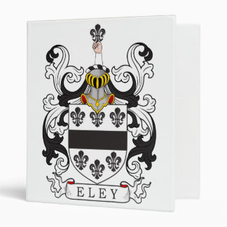 Eley Family Crest Vinyl Binders