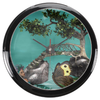 elf-14 fish tank clock