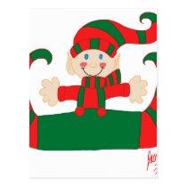Elf 1 postcard