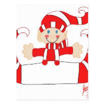 Elf 2 postcard