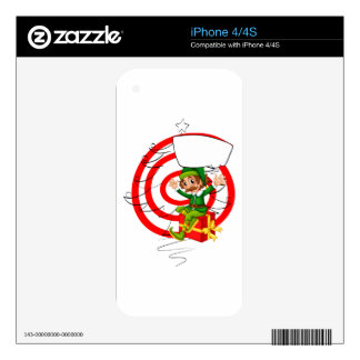 Elf and Christmas Skins For The iPhone 4