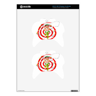 Elf and christmas xbox 360 controller decal