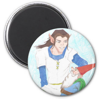 Elf and Gnome Magnet