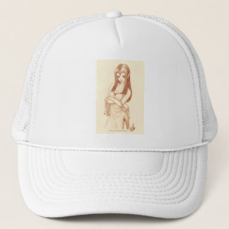 Elf (anime style) trucker hat