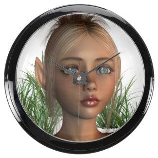 Elf Aquarium Clocks