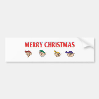 Elf Assembly Bumper Stickers