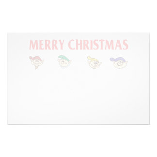 Elf Assembly Personalized Stationery
