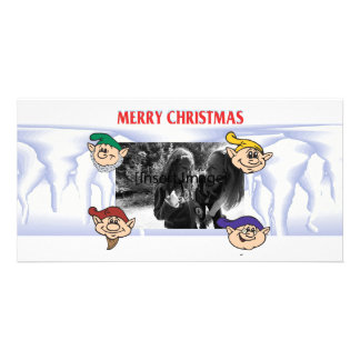 Elf Assembly Picture Card