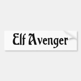 Elf Avenger Sticker Bumper Sticker