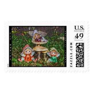 Elf Babies Stamp