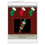 Elf Bait Greeting Cards