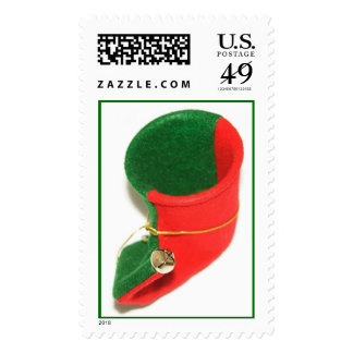 Elf boot. stamps