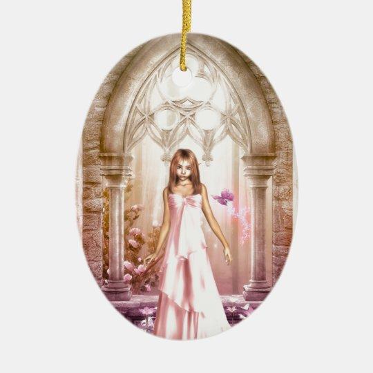 Elf Bride Ceramic Ornament