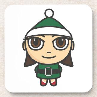 Elf Cartoon Character Coaster