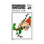 Elf Christmas Postage