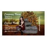 Elf Contemplation Business Cards